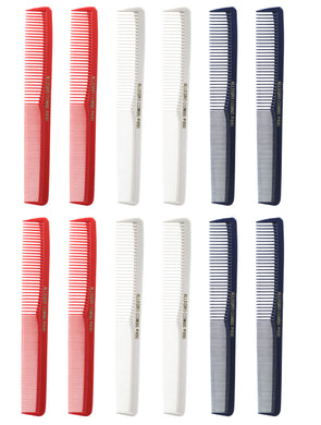 Allegro Combs 400 Barbers Combs Cutting Combs All Purpose Combs. Miixed  12 Pack