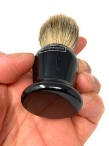 Scalpmaster Boar/Badger Mix Shaving Brush Shave Brush Black Handle SB-17