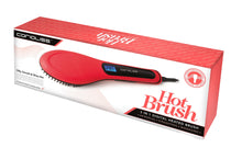 Corioliss Hair Straightening Hot Brush. 3-IN-1 Detangles, Straightens. Massaging.