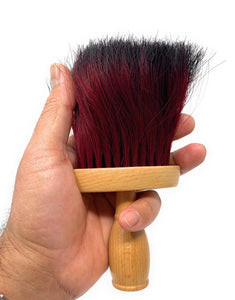 Neck Duster Extra Thick Ox Hair Neck Brush Barber Duster Color Bristles 1 pc.