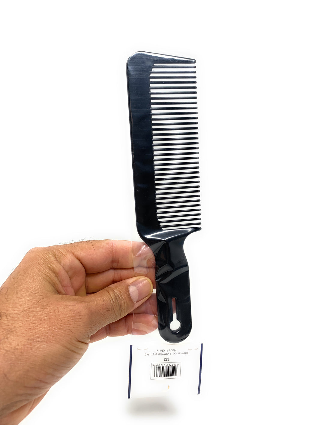 Scalpmster 8.5 In. Clipper Comb Barber Comb Flattop Comb 1 Pc.