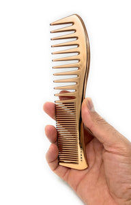 Cricket Copper Clean Wide Teeth Comb All Purpose Copper Infused Comb 1 Pc.