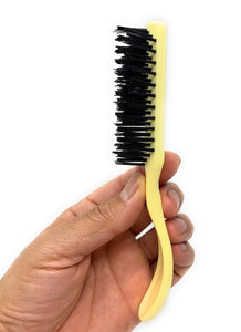 Traditional Nylon Bristle Brush Salon Brush Hair Brush Detangling Brush 2 Pc.