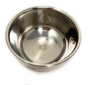 Scalpmaster Stainless Steel Shaving Bowl Shave Accessory for Men Small 3.4 Oz