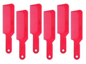 Krest Comb 8 3/4 Flattop Hair Cutting Comb. Barber's Hairdresser comb. model 9001. 6 Combs