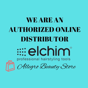 Elchim 3900 Healthy Ionic Black Hair Dryer. Professional Ceramic Blow Dryer.