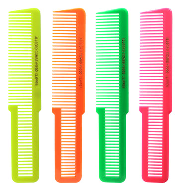 Allegro Combs 9000 Clipper Cutting Combs Blending Combs Fading Combs. 6 Pk.