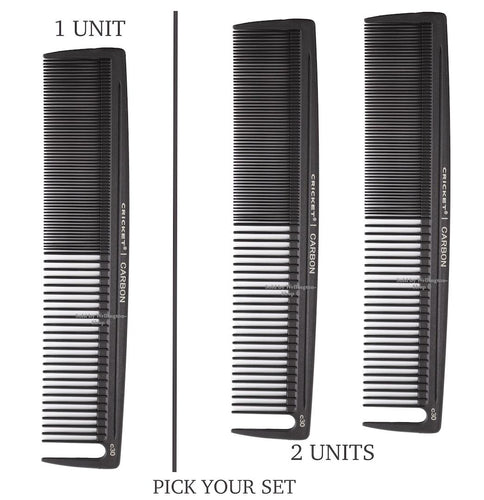 Cricket Carbon Hair Combs. Barber Comb C30 Power