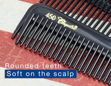 Krest Combs 450 hair Combs Barber Combs Hair Cutting Combs. Cleopatra Combs Black combs.