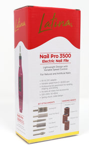 Latina Nail Pro 3500 Electric Nail File Nail Drill Nail Kit Professional Manicure Kit