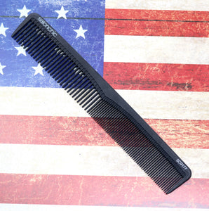7 In. Salonchic Hight Heat Resistant Carbon Comb. Hair cutting Comb.