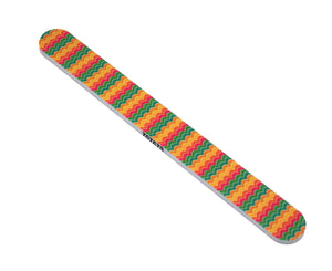 Tropical Shine Nail File Medium 180/Fine 240 grit. Emery Boards
