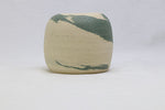 Small Natural Clay with Celadon Clay Swirl