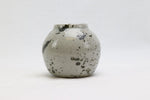 Mini Black Splatter Vase