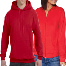 Pullover or Zip-Up Hoodie (Unisex)
