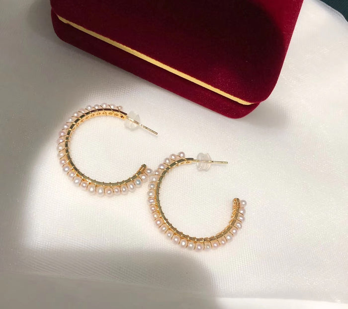 Big C Handmade Statement Earrings
