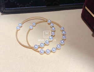 One Size Double-Way Pearl Bracelet