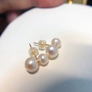 MMK 2-Pearl Necklace, 1-Pearl Earrings