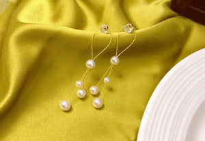 MMK 7-Pearl Necklace, 4-Pearl Earrings