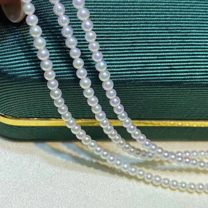 2.5-3.0mm Japanese Akoya Pearl Single String Necklace