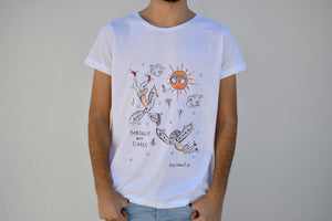 Holywabbit | Daedalus and Icarus Hand-painted T-shirt