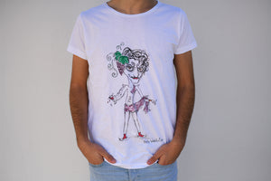Holywabbit | Dionysus Hand-painted T-shirt