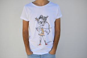 Holywabbit | Artemis Hand-painted T-shirt