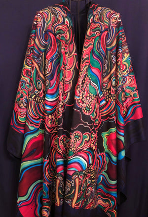 AMARIS - Graphic Printed Wrap