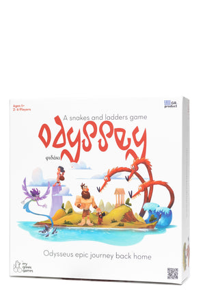 Odyssey: A Snakes and Ladders Game | My Greek Games