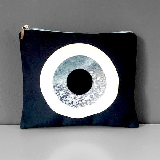 Medium Evil Eye Cosmetic Purse | Thiki Greece