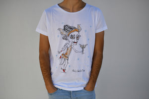 Holywabbit | Hermes Hand-painted T-shirt