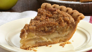Crumb-top Apple Pie