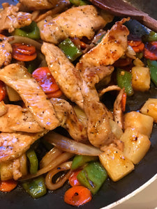 Sweet and Sour Pork Stirfry