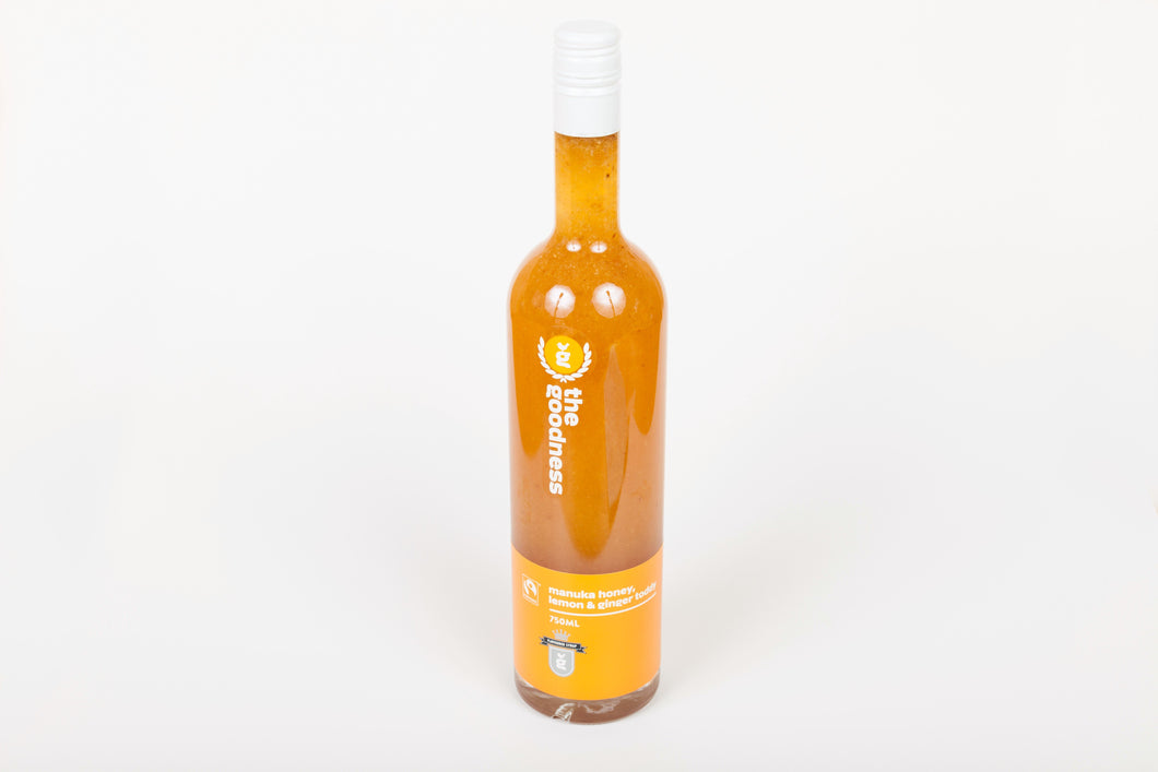 The Goodness Lemon, Honey and Ginger Toddy 750ml