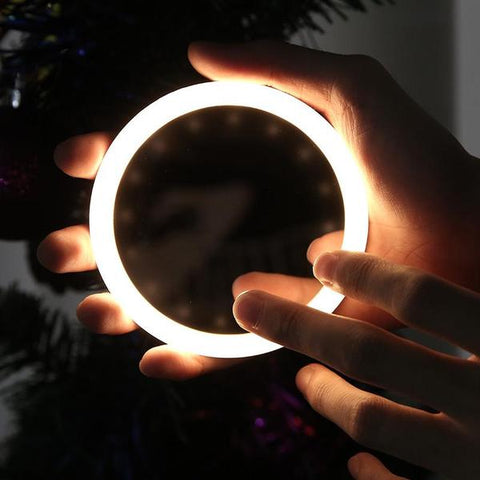 LED Makeup Mirror / Wireless Phone Charger