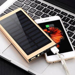 20,000 mAh Solar Charger Power Bank