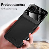 Protective Leather iPhone Case