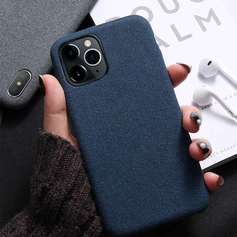Soft Fabric iPhone Case