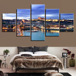 Prague Castle Canvas Set