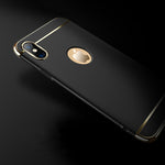 Luxury Electroplated Armor Case
