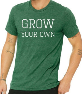 "Whitwam Organics ""Grow Your Own"" T-Shirt"
