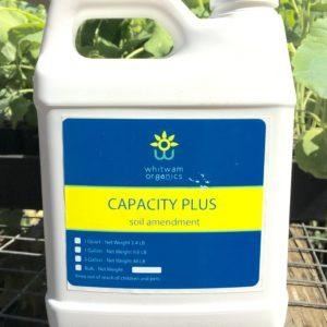 Capacity Plus Liquid Soil Amendment and Adjuvant