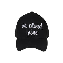 On Cloud Wine Embroidered C.C. Baseball Cap