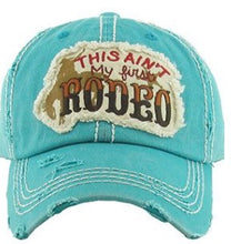 "Distressed Vintage ""This Ain't My First Rodeo"" Cap"