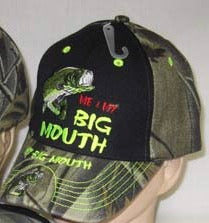 My Big Mouth Embroidered Cap