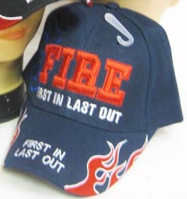 Fire, First In Last Out Embroidered Cap