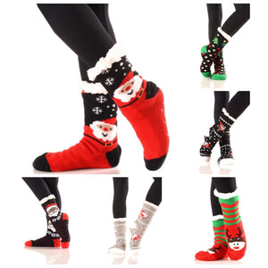 Christmas Santa Claus Socks