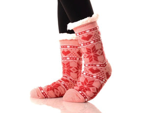 Christmas Snowflake Socks
