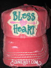 "Distressed Vintage ""Bless Your Heart"" Cap"