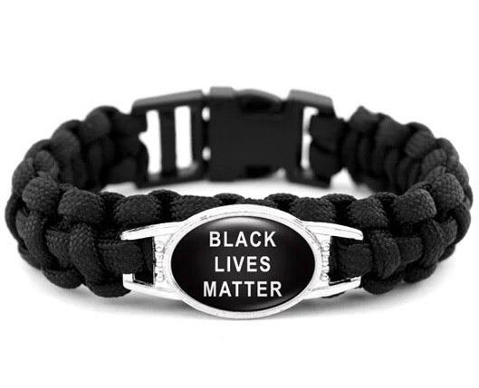 Paracord Black Lives Matter Bracelets